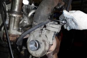 Замена турбин на дизельных и бензиновых двигателях