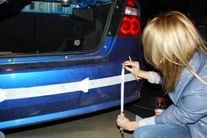 Установка парктроника переднего и заднего на автомобиль