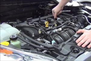 Замена свечей зажигания автомобиля