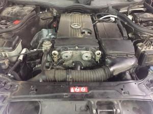 Автомобиль Мерседес Бенц с180 W203, двигатель М271, не заводится, нет компрессии.