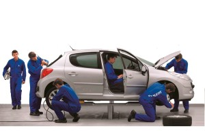 Ремонт и обслуживание автомобилей Пежо