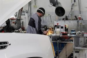 Сложный ремонт кузова