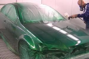 Полная покраска кузова автомобиля в любой цвет